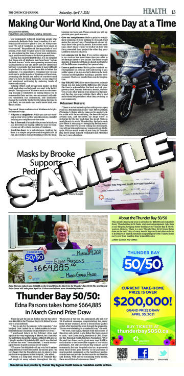 The Chronicle-Journal - Saturday, April 3, 2021 - E-05 ...