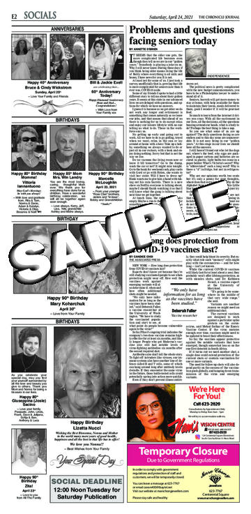 The Chronicle-Journal - Saturday, April 24, 2021 - E-02 ...